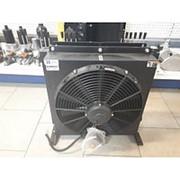 Маслоохладитель МО4, 24V DC, реле 60 С, 150 л/мин фото