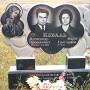 Памятники под заказ Кременчуг Полтава от компании Ритуал фото