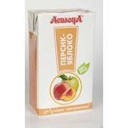Нектар персиково-яблочный 1л фото