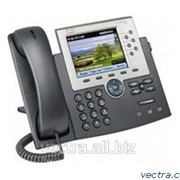 Проводной IP-телефон Cisco UC Phone 7965, Gig Ethernet, Color, spare (CP-7965G=) фото