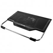 Охлаждающая подставка CBR CP-900 для ноутбука до 17'', 1 вентилятор, 1 доп. USB-порт, USB фото