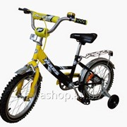 """Велосипед Марс 20"""" ручной тормоз + эксцентрик (желтый / черный) фото"""