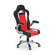 Кресло компьютерное Halmar LOTUS (красно-черный) фото
