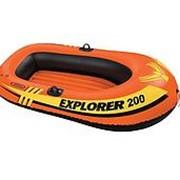 Лодка надувная 185x94x41см Explorer 200 Intex 58330 фото