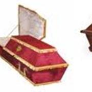 Изделия ритуальные похоронные из ценных пород древесины. фото
