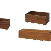 Горшки деревянные Горшки для цветов фото