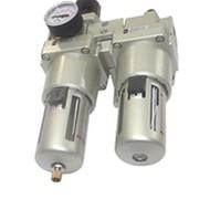 Блок подготовки воздуха АС 4010-04(AW4000-04 + Al4000-04) (фильтр, регулятор, лубрикатор масла) фото