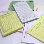 Печать почтовых и канцелярских бланков фото
