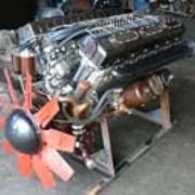 Дизельный двигатель Д6- тактный с воспламенением от сжатия, рядный дизель фото