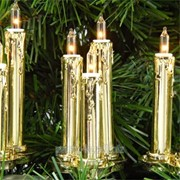 Гирлянда Свечи тройные золото 20свпо3лампы фото