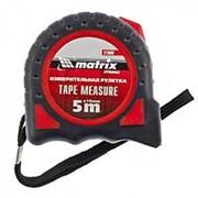 Matrix Рулетка Strong, 5 м х 19 мм, обрезиненный корпус Matrix фото