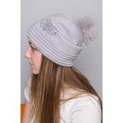 Изготовление текстильных элементов для трикотажных шапок. фото