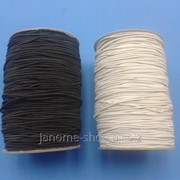 Резинка - шнур шляпная круглая 1,5мм 1рул - 90м фото
