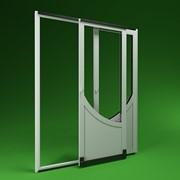 Раздвижные наружные металлопластиковые теплые двери патио фото