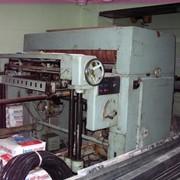 Листорезальная ротационная машина 4-х ролевая фото