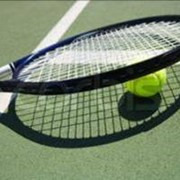 Крытый теннисный корт. фото
