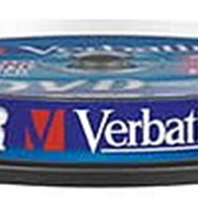 DVD-R диск Verbatim 4,7Gb 16x 10шт CakeBox фото