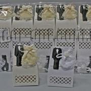 Бонбоньерка жених и невеста 6,5х3,5х1,5см 570812 фото
