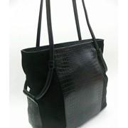 Женская сумка из натуральной замши и натуральной кожи М 42 фото
