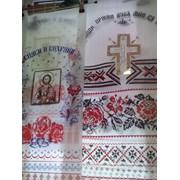 Полотенце на крест фото