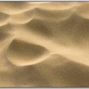 Песок барханный фото