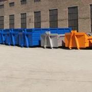 Металлические баки, металлические контейнеры, съемные кузова, лифтдамперы фото