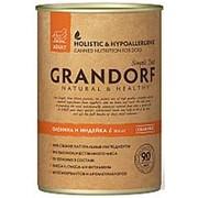 Grandorf 400г конс. Venison&Turkey Влажный корм для взрослых собак Оленина и индейка фото
