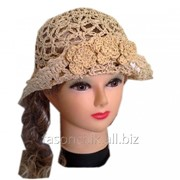 Шляпа соломенная ажур 0182 фото