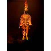 Голограмма художественная Золотой воин фото