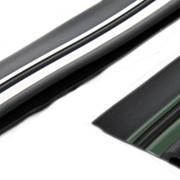 Привал. брус 90мм двухцветный двухполосный с отбойником (50м) фото