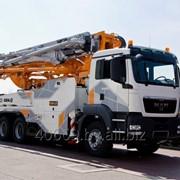 Транспортные услуги по доставке бетона фото