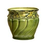 Кашпо керамика Карелия №4 малый 1,3л фото