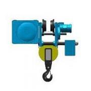 Канатный электротельфер серии MТ. С монорельсовой тележкой уменьшенная строительная высота фото