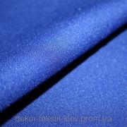 Габардин синий №17, ткань купить 3703 фото