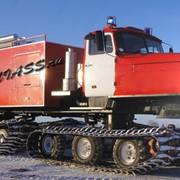 Пожарные автоцистерны АЦ-6 на базе транпортера-болотохода четырехгусеничного фото
