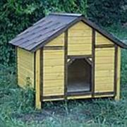 Будка для собаки №4 (Размер 1.2*1.2*1.1 м) фото