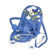 Шезлонг детский с игрушками Bertoni (Lorelli) Top Relax Blue Sky Adventure фото