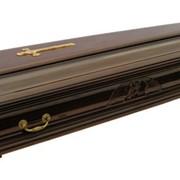 Гробы: деревянный гроб, цинковый гроб, гроб обитый тканью. Урны фото