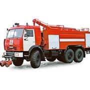 Аэродромный пожарный автомобиль АА-8/60-50/3 (шасси КАМАЗ-43118 6х6) фото