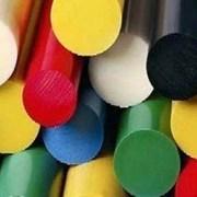 Экструзионный полиамид 6 рецикл стержень 25 мм (1000 мм, 0,62 кг) фото