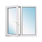 Окно металлопластик., 1160x1000 мм, поворотно-откидное, левое фото