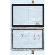Сенсорное стекло (тачскрин) ZJ-10039A черное, Диагональ 10.1 фото