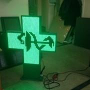 Аптечный крест, светодиодный аптечный крест фото