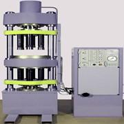 Машина гидравлическая для прессования образцов из асфальтобетона ПО-500 фото