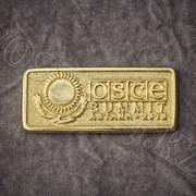 Значок металлический OSCE (ОБСЕ) фото