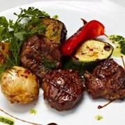 Доставка вторых блюд - Медальоны из говядины (г) фото