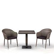 Комплект плетеной мебели T601DG/Y375G-W1289 Pale 2Pcs фото