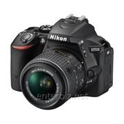 Зеркальная фотокамера Nikon D5500 + 18-55mm VR II Black KIT (VBA440K001) (официальная гарантия), код 133818 фото
