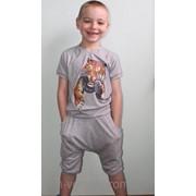 Костюм для мальчика с заниженной матней фото