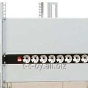 Фальшпанель в шкаф 19 1U, 2U и 4U цвет серый фото